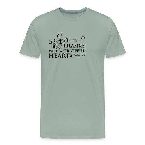 give thanks - Men's Premium T-Shirt