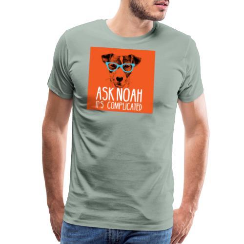 Ask Noah Christian Funk - Men's Premium T-Shirt