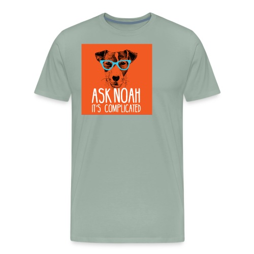 Ask Noah Christian Funk - Men's Premium T-Shirt