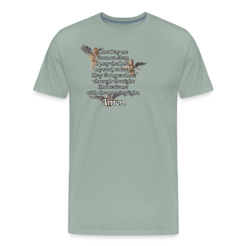 Bedtime prayer for Children - Men's Premium T-Shirt
