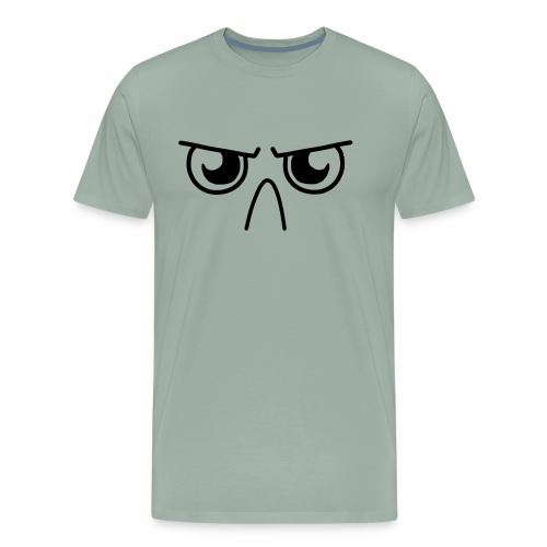 Grumpy Face - Men's Premium T-Shirt