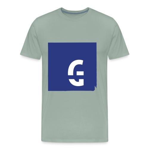 G tee blu - Men's Premium T-Shirt