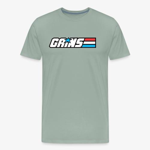 Gains Joe - Men's Premium T-Shirt
