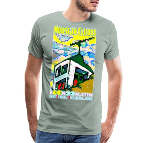 House in Clouds - Men's Premium T-Shirt