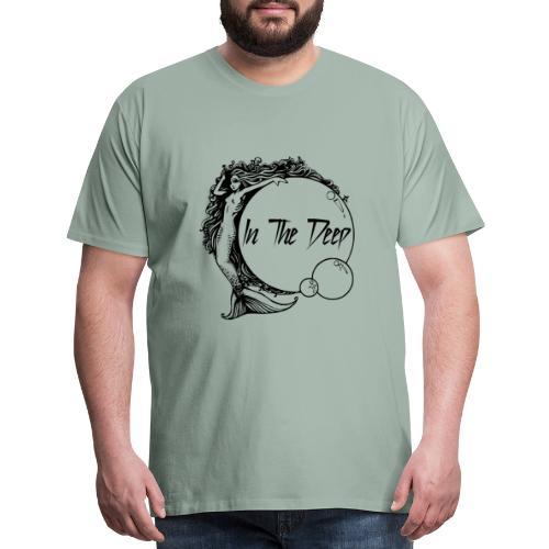In The Deep Lyric Shirt - Men's Premium T-Shirt