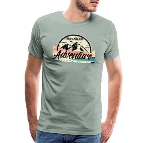 Be Fearless Adventure Design - Men's Premium T-Shirt