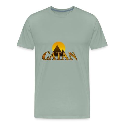Modern Settlers of Catan - Men's Premium T-Shirt