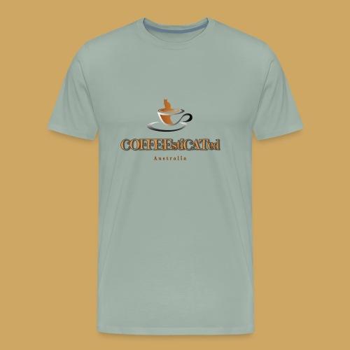 COFFEEstiCATed Australia - Men's Premium T-Shirt