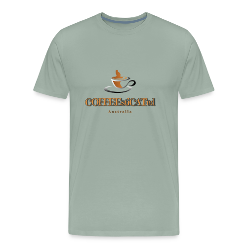 COFFEEstiCATed Australia - Men's Premium T-Shirt
