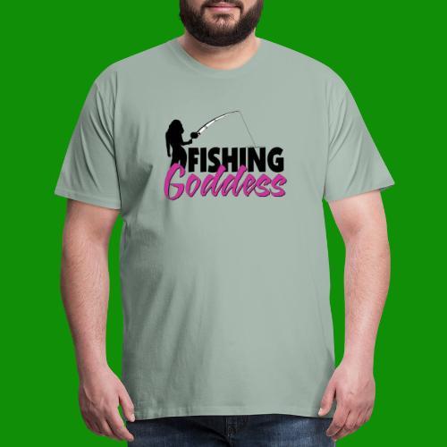 FISHING GODDESS - Men's Premium T-Shirt