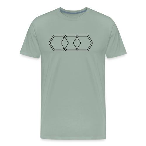 Hexagon Inverted! - Men's Premium T-Shirt