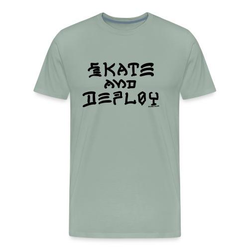 Skate and Deploy - Men's Premium T-Shirt