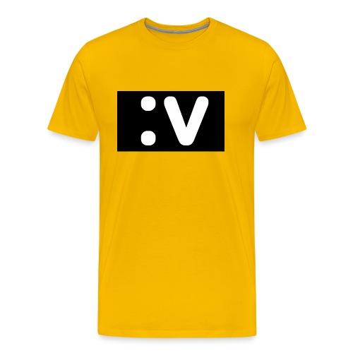 LBV side face Merch - Men's Premium T-Shirt