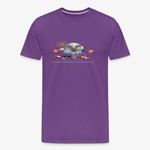 USA EAGLE 2018 - Men's Premium T-Shirt