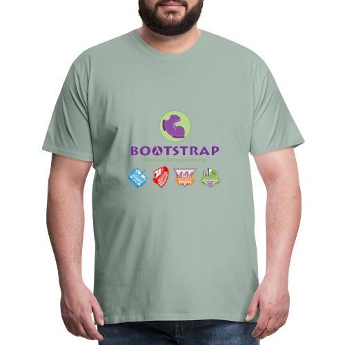 BOOTSTRAP Algebra Reactive Physics Data Science - Men's Premium T-Shirt