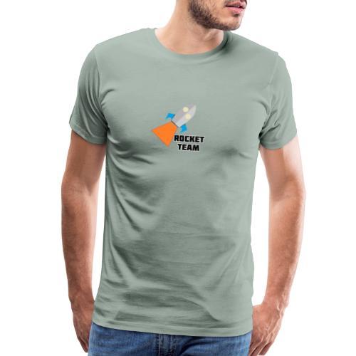 Rocket Team Logo2 - Men's Premium T-Shirt