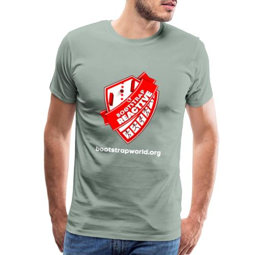 Algebra Reactive T-shirt - Men's Premium T-Shirt