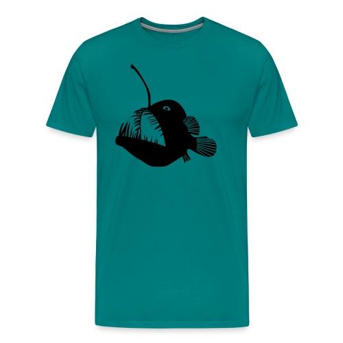 anglerfish frogfish sea devil deep sea angler - Men's Premium T-Shirt