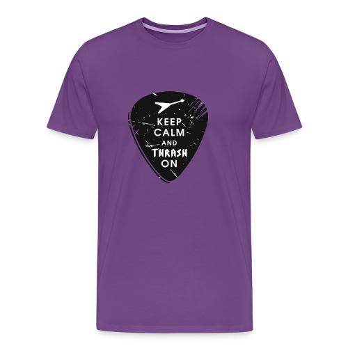 Keep calm and thrash on - Men's Premium T-Shirt