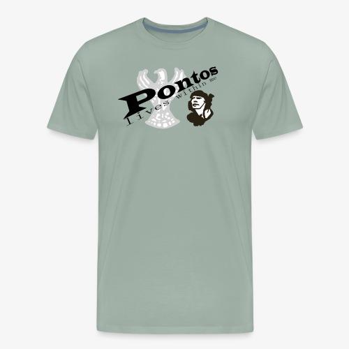 Pontos lives within me. - Men's Premium T-Shirt