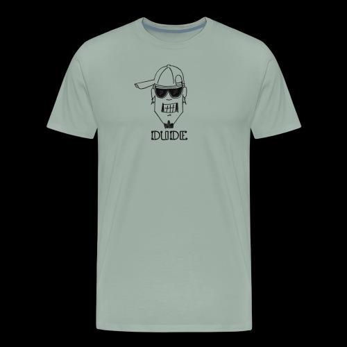 Dude Head 2 - Men's Premium T-Shirt