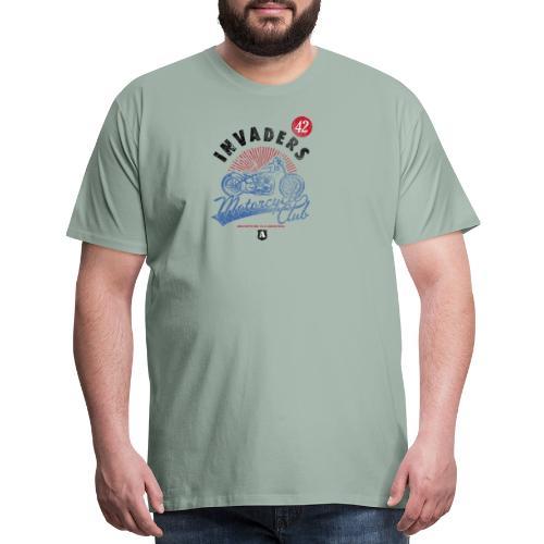 Invaders Bike Motor Cycle Club - Men's Premium T-Shirt