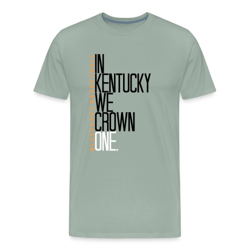 crownone gif - Men's Premium T-Shirt