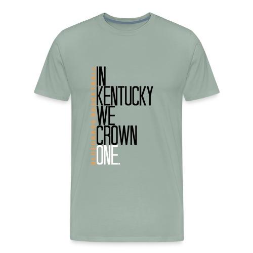 crownone gif - Men's Premium T-Shirt