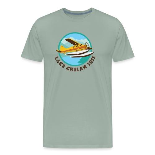 Wilson Chelan seaplane - Men's Premium T-Shirt