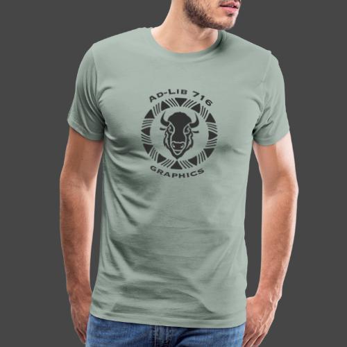 AdLib716 Dk Gray - Men's Premium T-Shirt