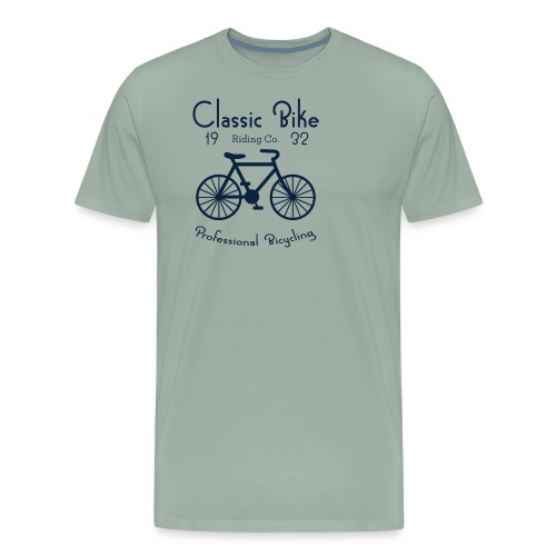 Classic Bike Professional Bicycling - Men's Premium T-Shirt