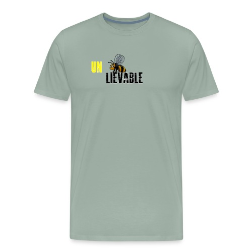 Unbee lievable Bee Design - Men's Premium T-Shirt