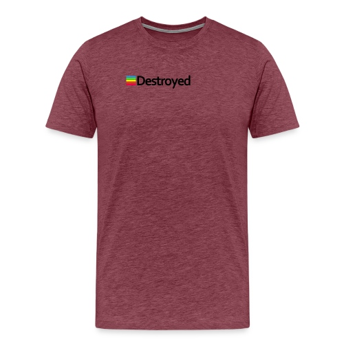 Polaroid Destroyed - Men's Premium T-Shirt