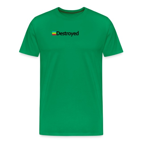 Polaroid Destroyed - Men's Premium T-Shirt