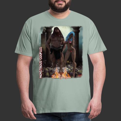Monstrous Couples: Cyclop - Men's Premium T-Shirt