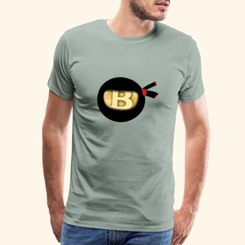 Bitcoin Ninja - Men's Premium T-Shirt