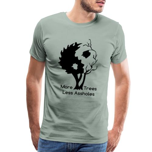 Yin Yang tree MTLA - Men's Premium T-Shirt