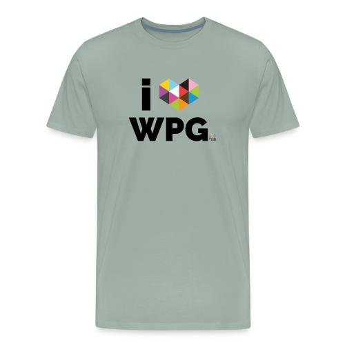 I heart WPG - Men's Premium T-Shirt