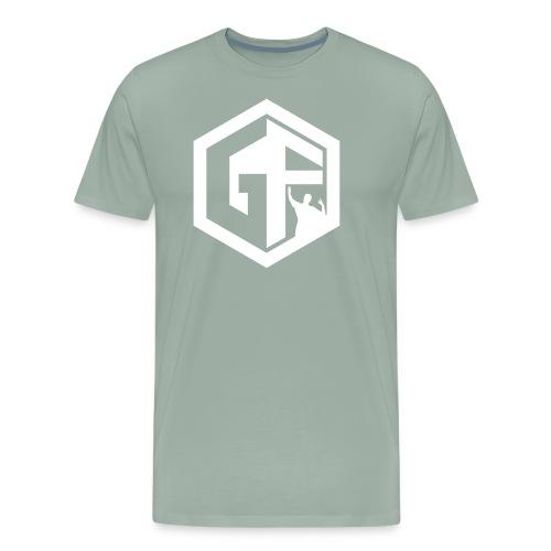 GF Logo Whitek - Men's Premium T-Shirt
