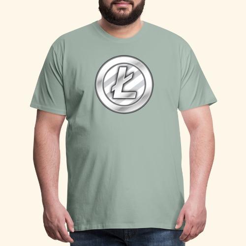 Litecoin Tee Shirt - Men's Premium T-Shirt