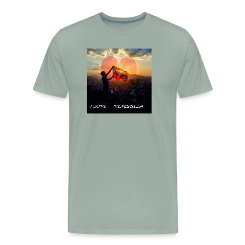venezuela - Men's Premium T-Shirt