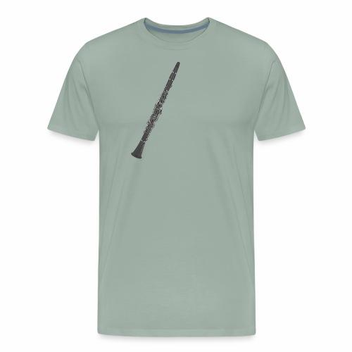 Clarinet Oehler (German) Design - Men's Premium T-Shirt