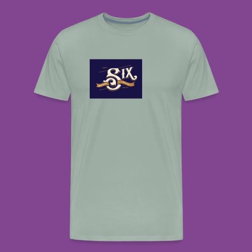 the 6 blue - Men's Premium T-Shirt