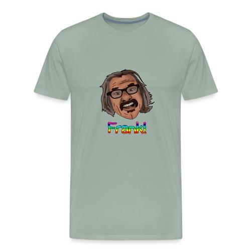 frank shirt rainbow letters png - Men's Premium T-Shirt