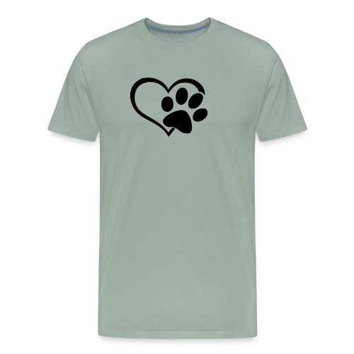 LOVE DOG - Men's Premium T-Shirt