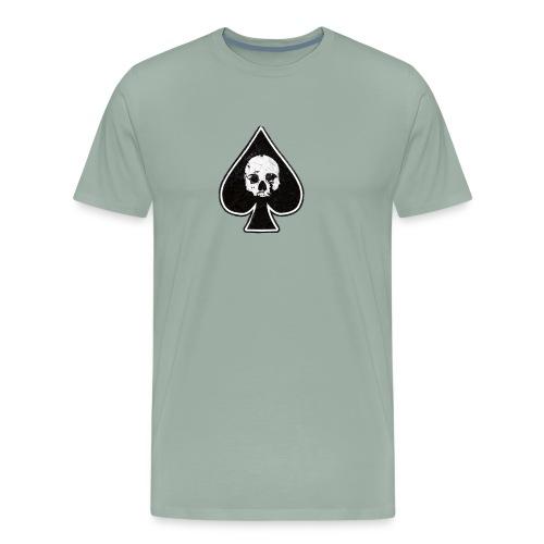 Ace of Spades skull rock - Men's Premium T-Shirt