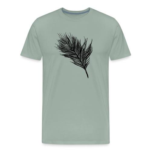 Delicate Feather - Men's Premium T-Shirt