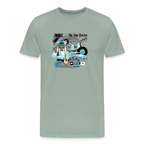The Dim Bulbs - Men's Premium T-Shirt