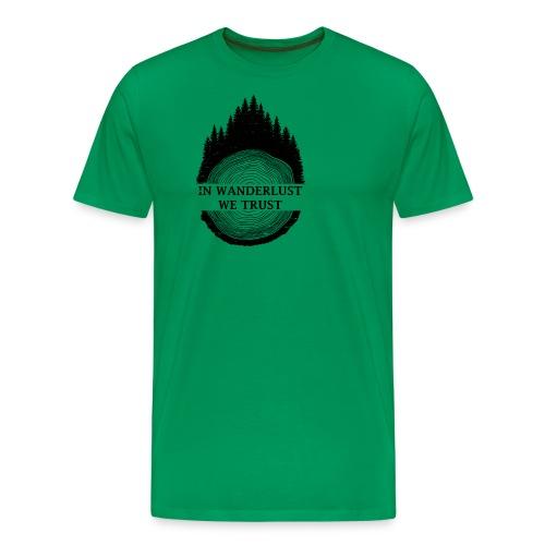 In Wanderlust We Trust - Men's Premium T-Shirt