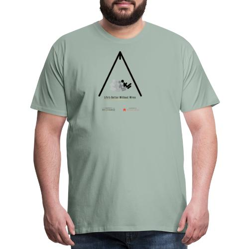 Life's better without wires: Swing - SELF - Men's Premium T-Shirt